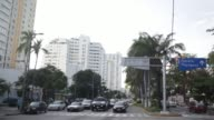 Vehicle traffic drives through downtown Acapulco Guerrero Mexico from the Colonia Alta Progreso Wednesday November 18 2015 Acapulco is one of...