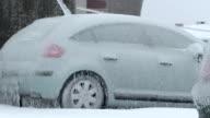 Vehicles In Glaze Ice