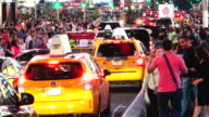 Vehicular Traffic, Times Square, New York City