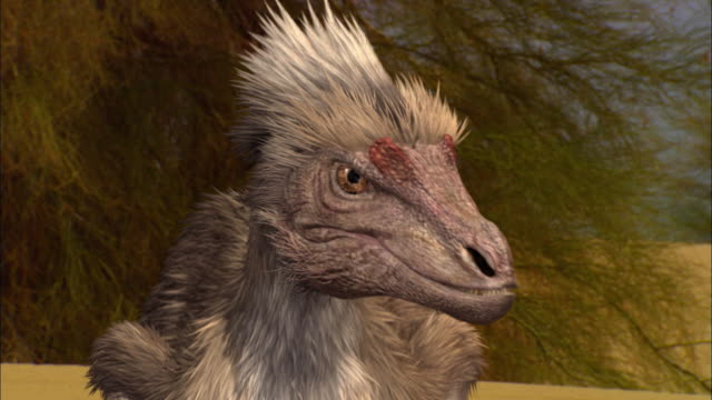 CGI, CU, Velociraptor, headshot