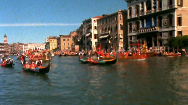 Venetian Regatta shot on film