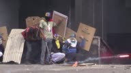 Venezuelan protesters threw Molotov cocktails at the Supreme Court's administrative headquarters on Monday in a new bout of violence in the country's...