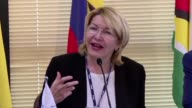 Venezuela's ex chief prosecutor Luisa Ortega who fled the country last week said in the Brazilian capital on Wednesday that she possesses evidence of...