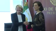 Venezuela's former attorney general Luisa Ortega who fled her country following alleged death threats after challenging the government over a deadly...