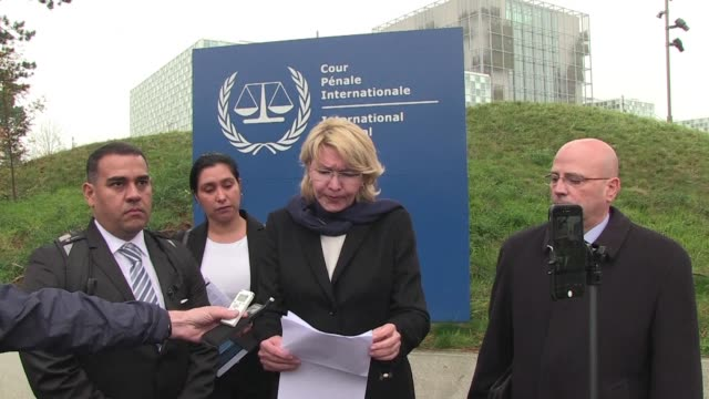 Venezuela's former attorney general urges the International Criminal Court to launch an investigation into alleged abuses of murder and torture by...