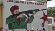 Venezuelas so called civic groups created by late leader Hugo Chavez to organise life in working class neighbourhoods are determined to continue El...