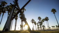 Venice Beach at Dusk - Time Lapse
