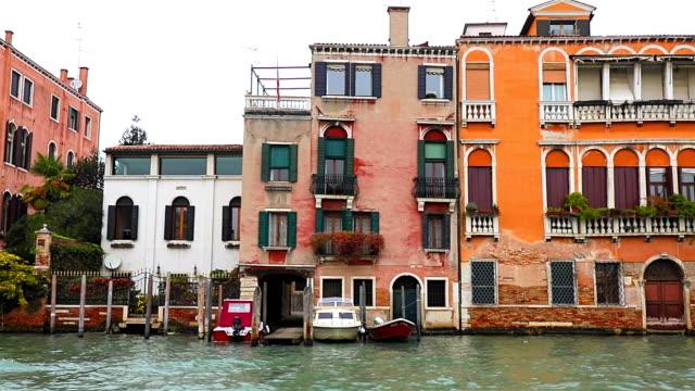 Venedig Kanal Kreuzfahrt im Wassertaxi auf den Kanal Grande