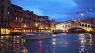 Venice Night by Vaporetto - Rialto