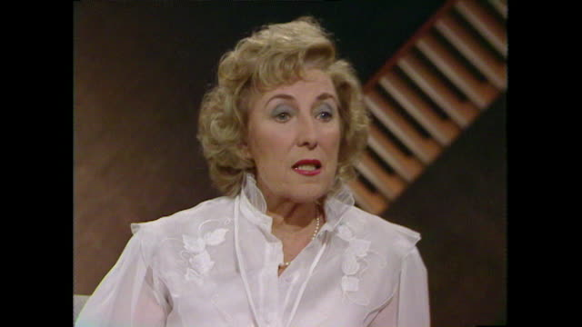 Vera Lynn talks about her upbringing in a 'party family' and why she started singing in working men's clubs 1984 LLVG340R AEVZ001J