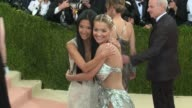 Vera Wang and Rita Ora at Manus x Machina Fashion in an Age of Technology Costume Institute Benefit Gala Arrivals at Metropolitan Museum of Art at...