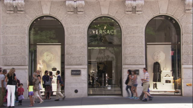 Versace Storefront 5th Ave New York City