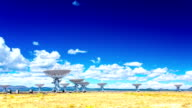 VLA Very Large Array radio telescope time lapse