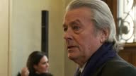 Veteran French actor Alain Delon was hospitalised in Paris on Wednesday the 76yearold's assistant said after reports claimed he was being treated for...
