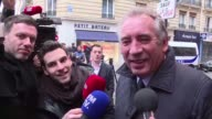 Veteran French centrist politician and MoDem party founder Francois Bayrou said that Emmanuel Macrons team would be working all day as the proEU...