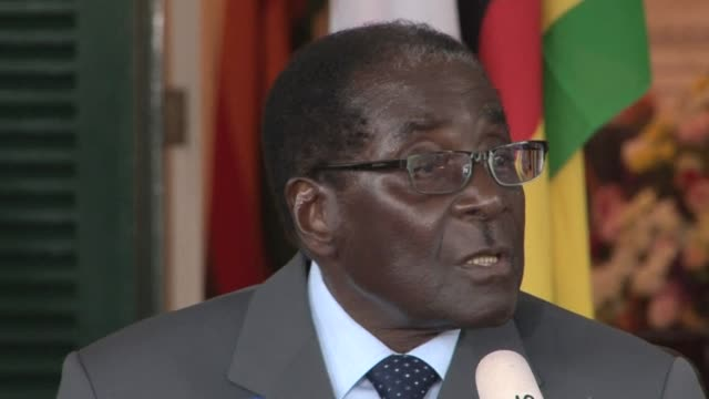 Veteran Zimbabwe President Robert Mugabe vowed Tuesday to step down if he loses the fiercely contested election as his rivals charged they had...