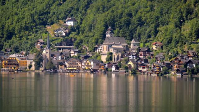 Vew of Hallstatt from across the Lake