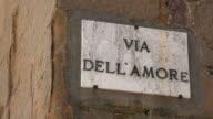 Via dell' Amore, Pienza, Val d'Orcia, Tuscany, Italy