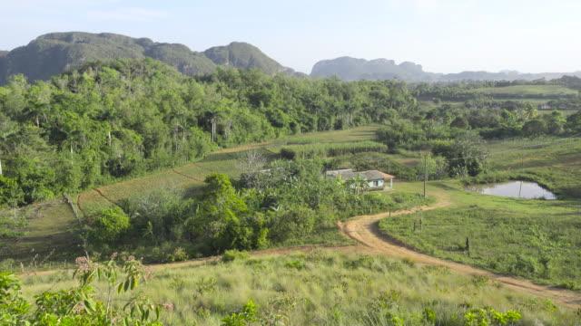 Viñales Cuba valley. Rural area with tobacco plantations close to Pinar del Rio.