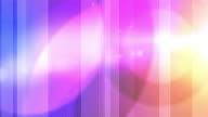 Vibrant Colourful Stripes Background Loop - Pink Rainbow (Full HD)