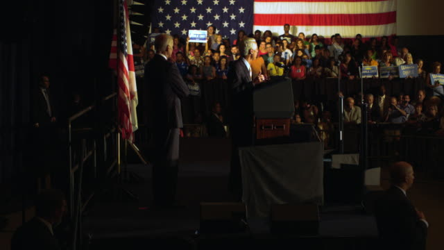 Vice President Joe Biden campaigns with former Florida Governor and now Democratic gubernatorial candidate Charlie Crist during a campaign event at...