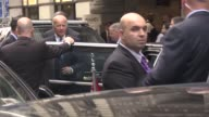 Vice President Joe Biden leaves The Peninsula Hotel after meeting with Turkish President Recep Tayyip Erdogan in New York USA on September 21 2016