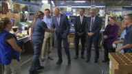KTLA Vice President Joe Biden Tours North Hollywood Facility Bobrick Washroom Equipment Inc a manufacturing firm headquartered in North Hollywood on...