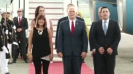US Vice President Michael Pence arrived on Thursday in Panama in the last leg of his Latin American tour which has been strongly marked by the crisis...