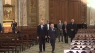 US Vice President Mike Pence and Argentina's Foreign Minister Jorge Faurie took part Tuesday in a wreath laying ceremony at the Buenos Aires...