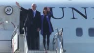 US Vice President Mike Pence landed Wednesday in Chile the third destination of his Latin American tour