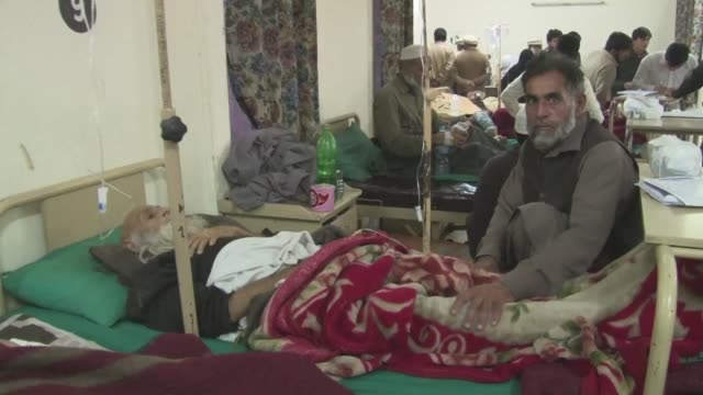 A victim of a Taliban bomb blasts in Pakistan said the explosion was so loud he thought there was an earthquake