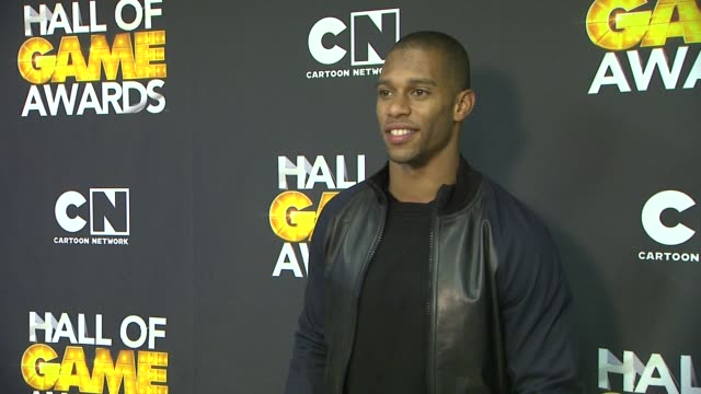 Victor Cruz at Cartoon Network Hosts Second Annual Hall Of ...