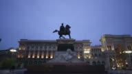 Victor Emanuel II statue
