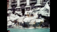 1960 Victor Emmanuel Monument - Trevi Fountain - Rome, Italy Home Movie