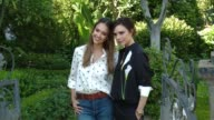 Victoria Beckham and Jessica Alba at the Victoria Beckham For Target Launch Event on April 1 2017 in Los Angeles California