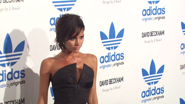 Victoria Beckham at the David Beckham And James Bond Launch adidas Originals By Originals Line at Los Angeles CA