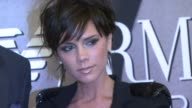 Victoria Beckham at the Victoria Beckham Reveals New Emporio Armani Underwear Campaign at Macy's at New York NY