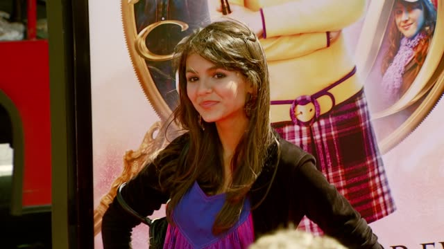 Victoria Justice at the 'Nancy Drew' Premiere at Grauman's Chinese Theatre in Hollywood California on June 10 2007