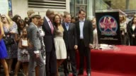 Victoria Rowell Angela Bassett Forest Whitaker Kerry Washington Kiefer Sutherland and Peter Rice at the Dediction of Forest Whitaker's Walk of Fame...