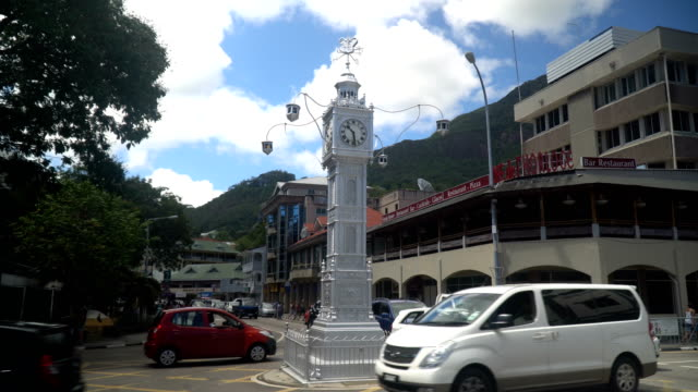Victoria, Seychelles- the little 'Big Ben'