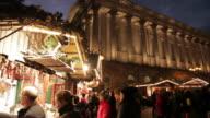 Victoria Square, Town Hall & Christmas Market, Birmingham, West Midlands, England, United Kingdom