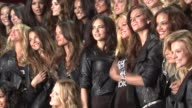 Victoria's Secret Angels at the The Victoria's Secret Fashion Show Preview at New York NY