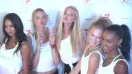 CLEAN Victoria's Secret Angels' Cycle For Pelotonia at Soul Cycle New York on July 08 2015 in New York City