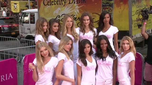 Victoria's Secret Angels Kate Grigorieva Taylor Hill Romee Strijd Jac Jagaciak Lais Ribeiro Elsa Hosk Martha Hunt Sara Sampaio Jasmine Tookes Stella...