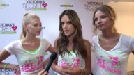 Victoria's secret models Elsa Hosk Alessandra Ambrosio Magdalena Frackowiak at Victoria's Secret 3rd Annual Supermodel Cycle at SoulCycle West...