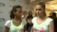 INTERVIEW Victoria's Secret models Gracie Carvalho and Elsa Hosk on being happy to support cancer research at Victoria's Secret 3rd Annual Supermodel...