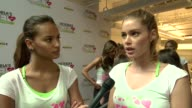 INTERVIEW Victoria's Secret models Gracie Carvalho and Elsa Hosk on how cancer research is important at Victoria's Secret 3rd Annual Supermodel Cycle...