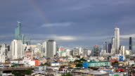 Vide van Central Business District in Bangkok, Thailand (4K)