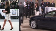 Video and stills montage depicting the pregnancy of the Duchess of Cambridge