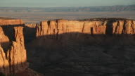HD video cliffs and canyons in the Colorado National Monument